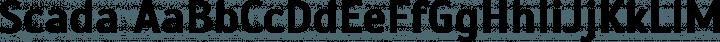 Scada font family by Jovanny Lemonad