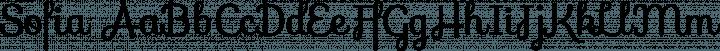 Sofia Regular free font