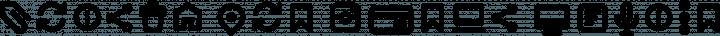 Arista Pro Icons DemiBold free font