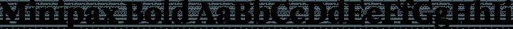 Minipax Bold free font