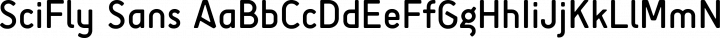 SciFly Sans free font