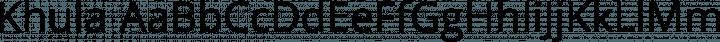 Khula font family by Erin McLaughlin