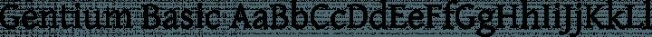 Gentium Basic Regular free font