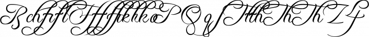 Freebooter Script Alts free font