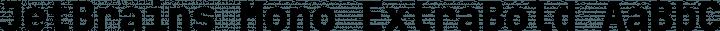 JetBrains Mono ExtraBold free font