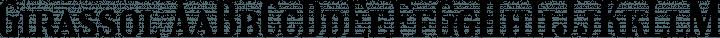 Girassol font family by Liam Spradlin