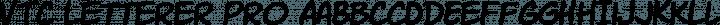 VTC Letterer Pro Regular free font