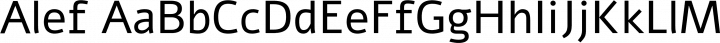 Alef font family by Hagilda